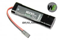WE 9.6v 1600mAh NIMH Small Type Battery (Mini Plug) WE-BAT0002