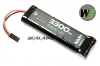 WE 8.4v 3300mAh NIMH Battery Large Type (Mini Plug) WE-BAT0006