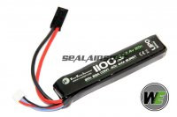WE 7.4v 1100mAh 20c LiPo Battery (Mini Plug) WE-BAT0008