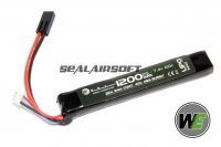 WE 7.4v 1200mAh 20c LiPo Battery (Mini Plug) WE-BAT0010