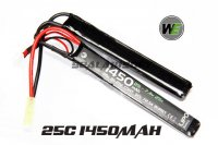 WE 7.4v 1450mAh 25c LIPO Nunchuck Battery(Mini Plug) WE-BAT0014