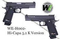 WE Hi-Capa 5.1 K Version GBB (Gas Blowback)
