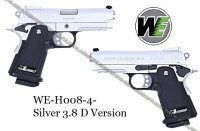 W Silver 3.8 D Version GBB (Gas Blowback)
