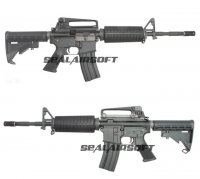 WE M4A1 Open Bolt Version GBBR(Black)