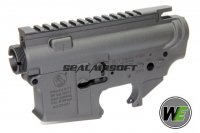 WE Upper & Lower Receiver For M4A1 GBB WE-ULR-GBB-BK