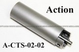 ACTION Stainless Steel One Piece Cylinder Set for Ver. 3 AEG Gearbox