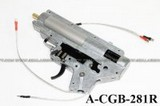 ACTION 8mm Ver.2 Complete AEG Gearbox Set (M90 Spring, Rear Wiring)
