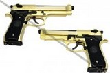 WE COLT M1911A1 Full Metal GBB Pistol (Gold;Brown Grip) - M92-SOF-GOLD