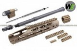 WE Raptor Front Set For M4 Airsoft AEG (Dark Earth) WE-KIT-RAPTOR-AEG-DE