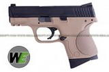 WE M&P Compact GBB Pistol (Standard, TAN) WE-GBB-79-MPC-STD-TAN