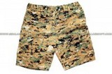 SE GEAR Camouflage Military BDU Combat Cargo Army Shorts (Digital Woodland Camo/ Size Available) SE-SHORTS-DWC