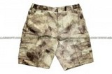 SE GEAR Camouflage Military BDU Combat Cargo Army Shorts (A-Tacs / Small Size ) SE-SHORTS-AT