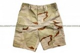 SE GEAR Camouflage Military BDU Combat Cargo Army Shorts (Desert Camo / Size Available) SE-SHORTS-DC