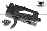 G&D Metal Trigger Assembly For DTW Type AEG GD-0003