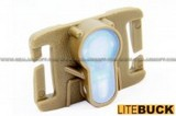 LITEBUCK MOLLE System Strobe Light (DE, Blue LED) LBUCK-MS-DE-04