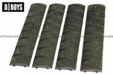 D-Boys Airsoft Polymer Rail Panel Cover For 20mm (Olive Drab) DB-M8-OD
