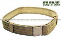 SE Gear Duty Belt (2 inch / Khaki) SE-BT-05-KH