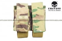EMERSON LBT Style Molle 40mm Grenade Shell Pouch (Multicam) EM6366-MC