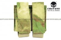 EMERSON LBT Style Molle 40mm Grenade Shell Pouch (A-Tacs FG) EM6366-ATFG