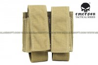 EMERSON LBT Style Molle 40mm Grenade Shell Pouch (Tan) EM6366-TAN