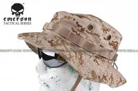 EMERSON Bonnie Hat With Velcro (Digital Desert Camo) EM8552-DDC