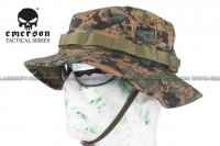 EMERSON Bonnie Hat With Velcro (Digital Woodland Camo) EM8540-DWC
