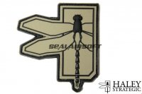 Haley Strategic Dragonfly OD PVC Patch HALS-HSP004P