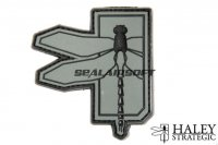 Haley Strategic Dragonfly Disruptive Grey PVC Patch HALS-HSP003P