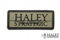 Haley Strategic Brand OD PVC Patch HALS-HSP002P