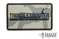 Haley Strategic TroubleShooter PVC Patch HALS-HSP005P
